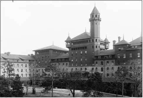 The Buckstaff Bathhouse Hotel, spring training home of the 1912 Boston Red Sox.