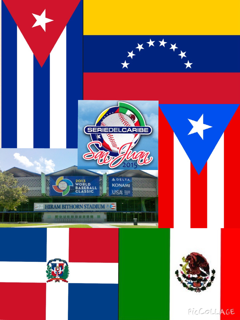 Latin American Flags Collage 48
